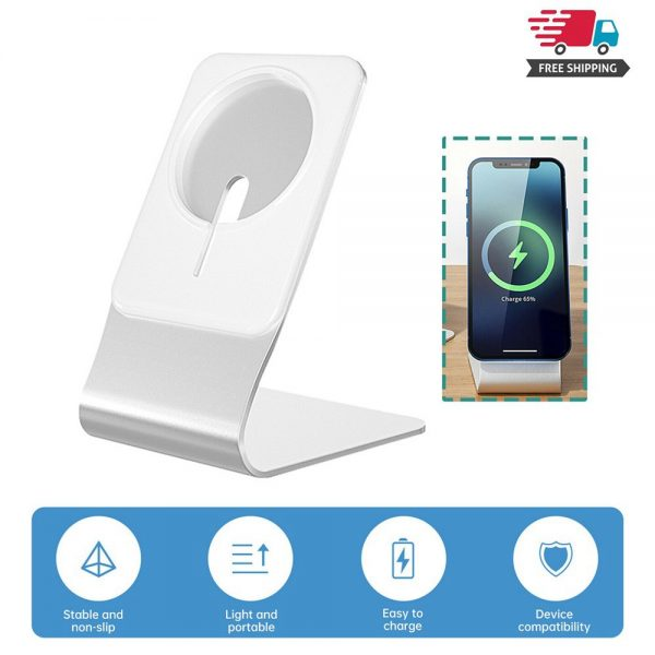 Magnetic Wireless Charging Stand Desktop With Mag Safe For Iphone 12 Pro Max (2)