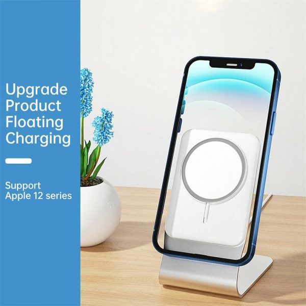 Magnetic Wireless Charging Stand Desktop With Mag Safe For Iphone 12 Pro Max (3)
