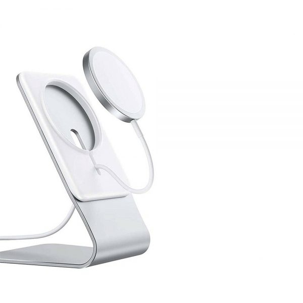 Magnetic Wireless Charging Stand Desktop With Mag Safe For Iphone 12 Pro Max 8 副本