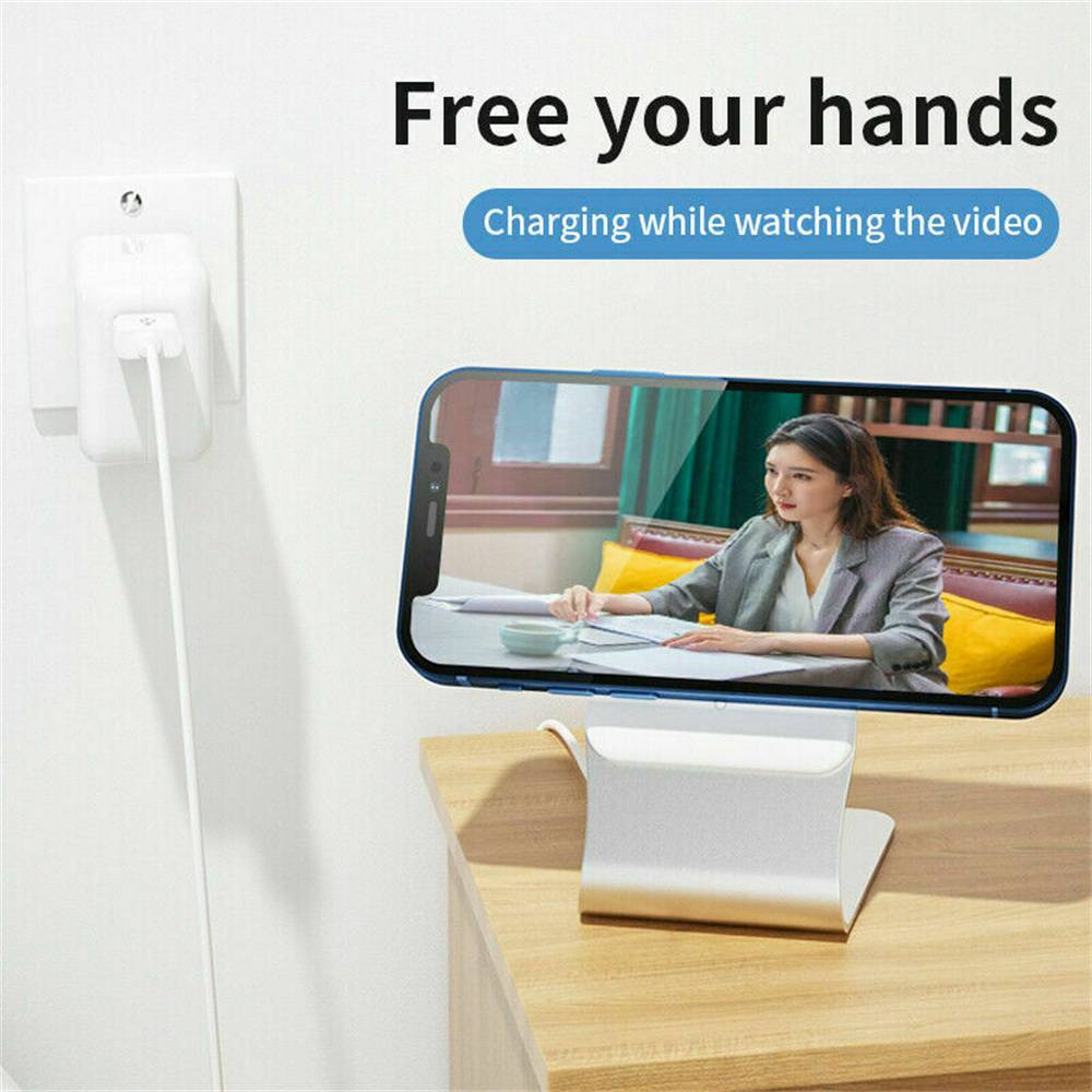 Magnetic Wireless Charging Stand Desktop With Mag Safe For Iphone 12 Pro Max (9)