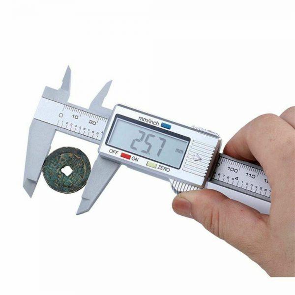 Micrometer Vernier Caliper Gauge Digital Measuring Ruler Electronic 6 150mm Lcd (2)