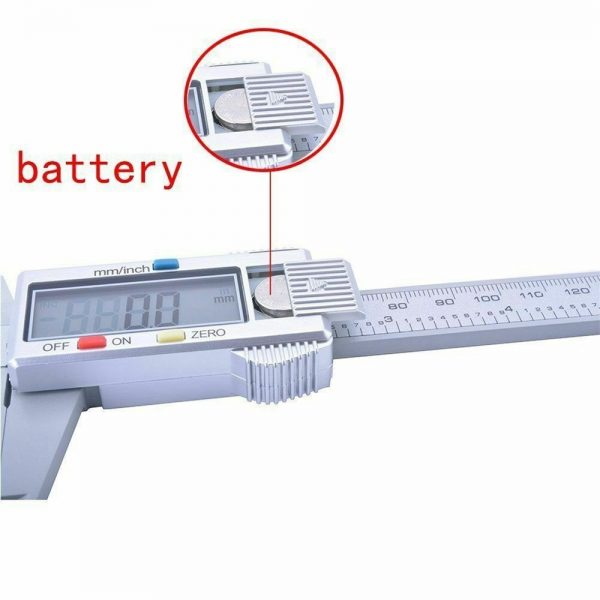 Micrometer Vernier Caliper Gauge Digital Measuring Ruler Electronic 6 150mm Lcd (6)