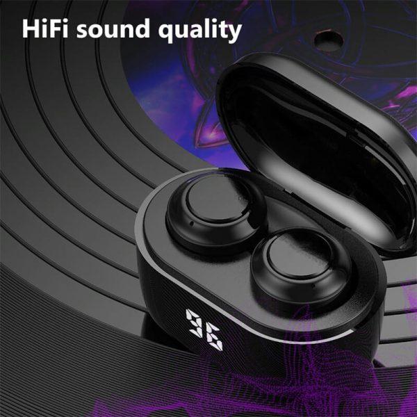 Mini Earbuds With Mic Headphone Stereo Headset Wireless Earphone (1)
