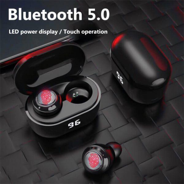 Mini Earbuds With Mic Headphone Stereo Headset Wireless Earphone (2)