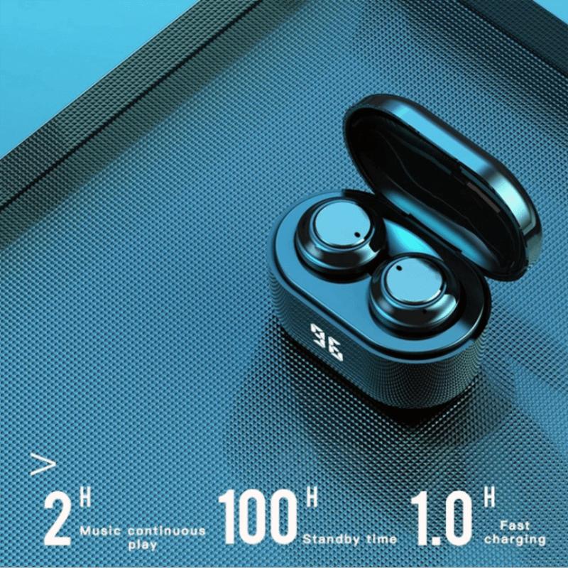 Mini Earbuds With Mic Headphone Stereo Headset Wireless Earphone (3)