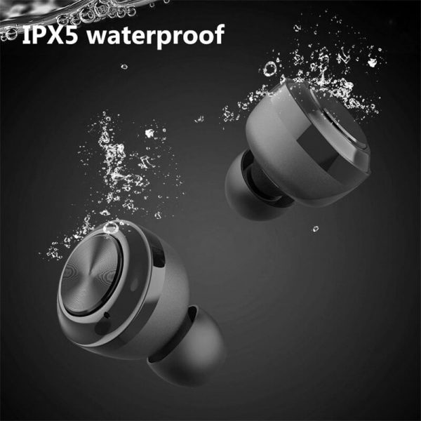 Mini Earbuds With Mic Headphone Stereo Headset Wireless Earphone (4)