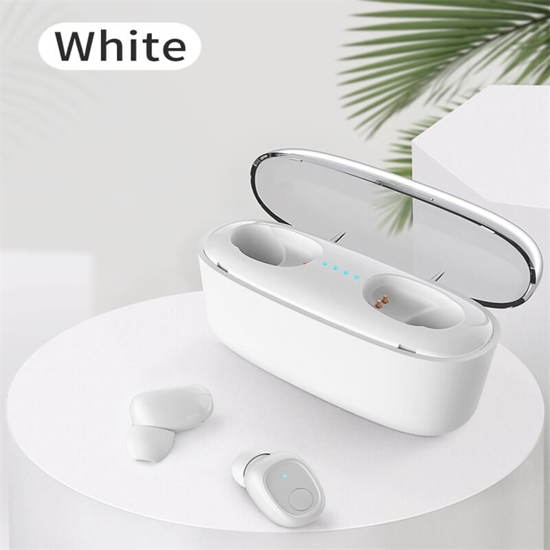 Mini Portable Earphone Microphone Stereo Earbuds Wireless Earbuds With Charging Box Earphone (3)