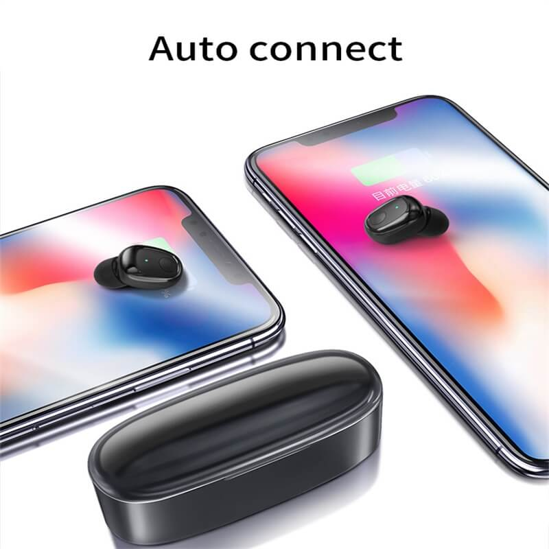 Mini Portable Earphone Microphone Stereo Earbuds Wireless Earbuds With Charging Box Earphone (7)
