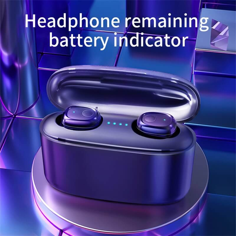 Mini Portable Earphone Microphone Stereo Earbuds Wireless Earbuds With Charging Box Earphone (8)