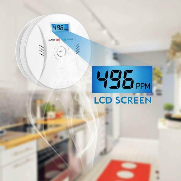 Mini Smoke Alarm For Home High Sensitivity Stand Alone Wireless Smoke Detector (2)