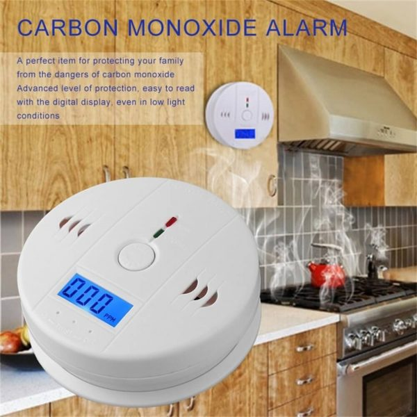 Mini Smoke Alarm For Home High Sensitivity Stand Alone Wireless Smoke Detector (3)