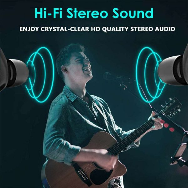 Mini Tws Bluetooth 5.0 Earbuds True Wireless Stereo Earphones Headphones 2021 (10)