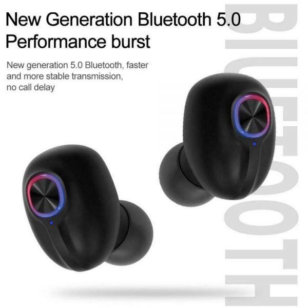 Mini Tws Bluetooth 5.0 Earbuds True Wireless Stereo Earphones Headphones 2021 (15)