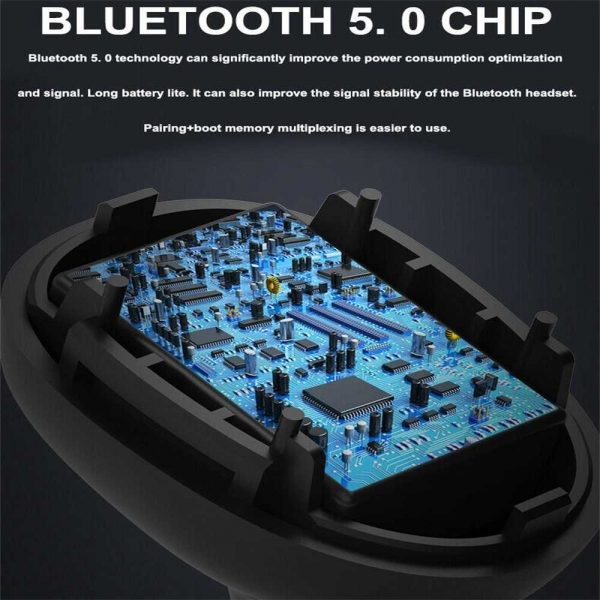 Mini Tws Bluetooth 5.0 Earbuds True Wireless Stereo Earphones Headphones 2021 (5)