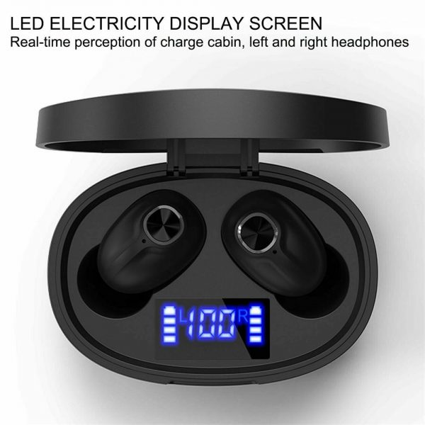 Mini Tws Bluetooth 5.0 Earbuds True Wireless Stereo Earphones Headphones 2021 (7)