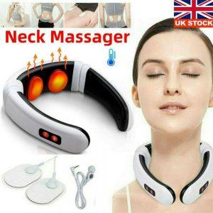 Neck Massager Intelligent Electric Pulse Back Cervical Care Spine Pain Massage (12)