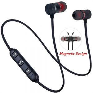 Neckband Magnetic Earphone Active Noise Cancelling Wireless Gaming Headset Stereo Earbuds (7)