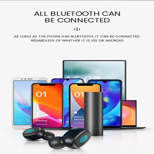 New Tws Bluetooth 5.0 Wireless Headphones In Ear Earphones Mini Headset Earbuds (11)