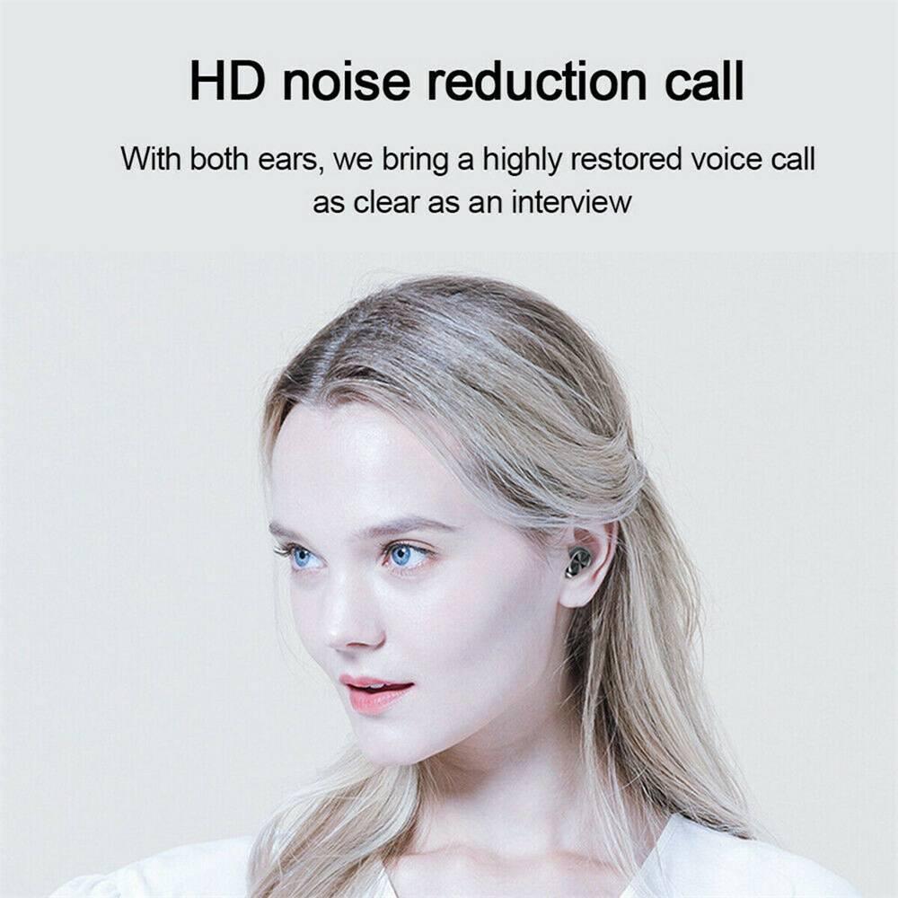 New Tws Bluetooth 5.0 Wireless Headphones In Ear Earphones Mini Headset Earbuds (12)