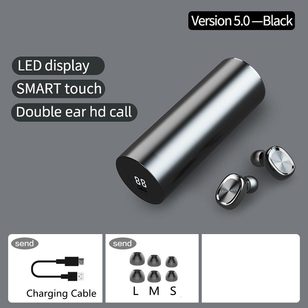 New Tws Bluetooth 5.0 Wireless Headphones In Ear Earphones Mini Headset Earbuds (4)