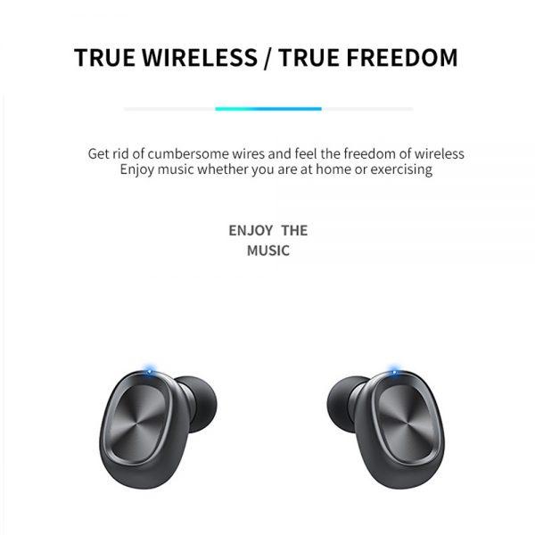 New Tws Bluetooth 5.0 Wireless Headphones In Ear Earphones Mini Headset Earbuds (6)