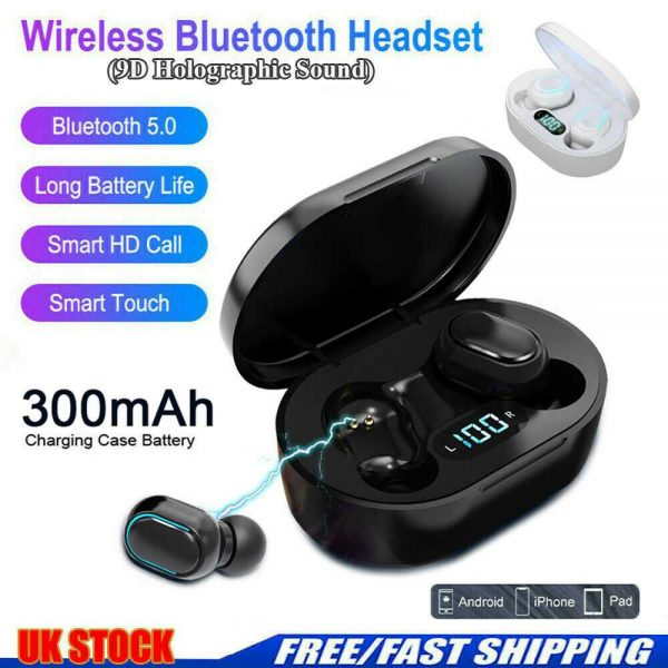 New Tws Wireless Bluetooth 5.0 Earphones Ear Pods Earbuds Headset For Ios Android Uk (18)