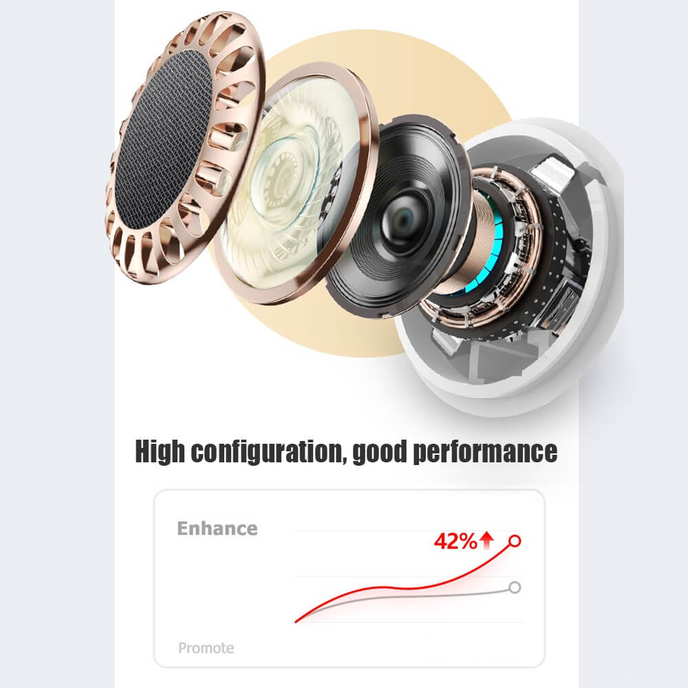 New Tws Wireless Stereo Earphones Waterproof Earbuds Earphone Charging Box (9)