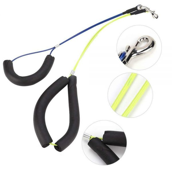 No Sit Pet Haunch Holder Dog Grooming Restraint Harness Leash Loops For Table Uk (9)
