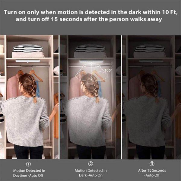Pir Led Motion Sensor Light Led Closet Light Night Lights With Pir Motion Sensor (4)