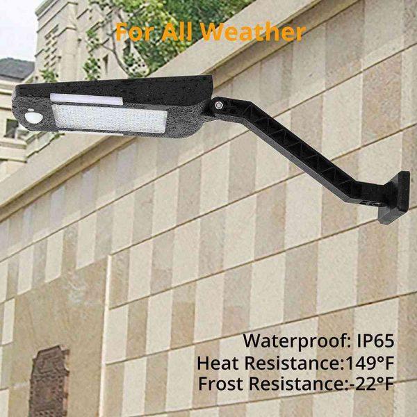 Path Garden Lamp 48led Solar Power Pir Motion Sensor Wall Street Lights (10)