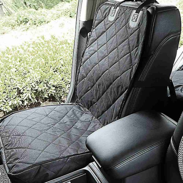 Pet Bucket Seat Cover 2 In 1 Deluxe Dog Cat For Car Non Slip Backing Waterproof (3)