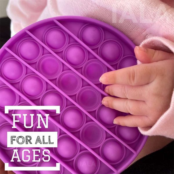 Pop Its Fidget Toy Push Bubble Sensory Stress Relief Kids Tiktok Family Games (5)