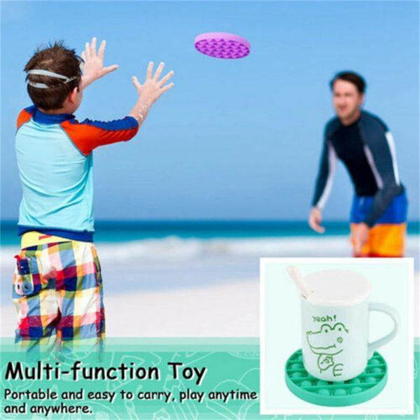 Pop Its Fidget Toy Push Bubble Sensory Stress Relief Kids Tiktok Family Games (9)