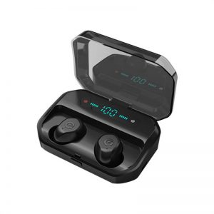 Portable Bluetooth Earphone High Quality Mini Sport Stereo Magnetic Touch 5.0 Earbuds Earphone (6)