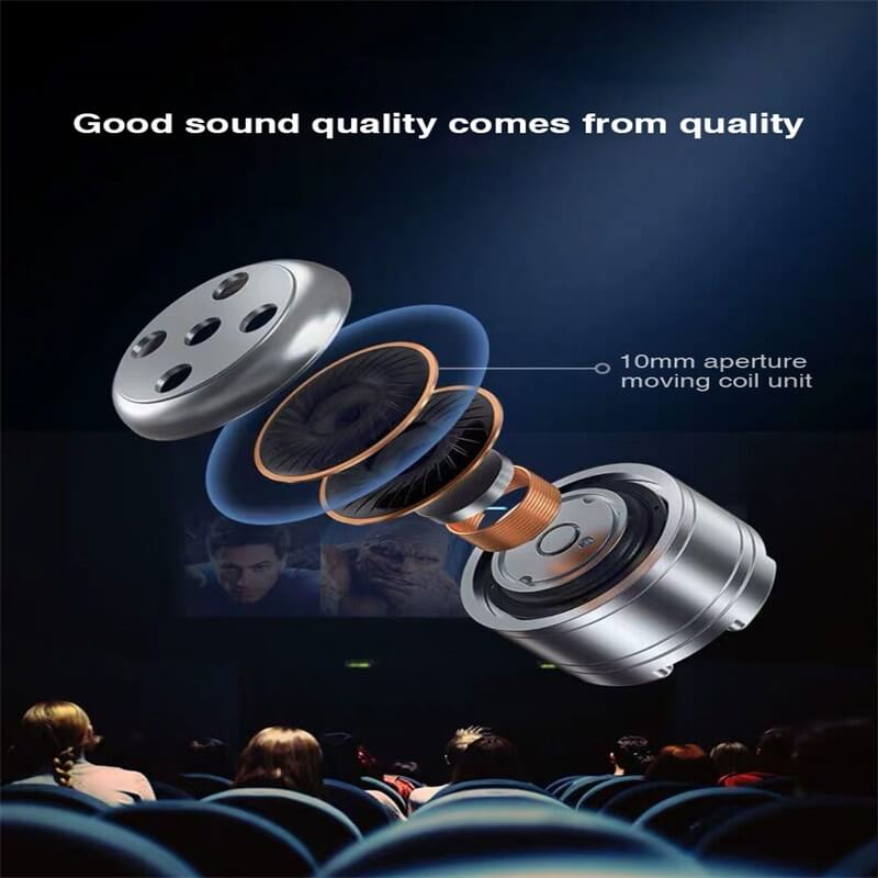 Portable Bluetooth Earphone High Quality Mini Sport Stereo Magnetic Touch 5.0 Earbuds Earphone (9)