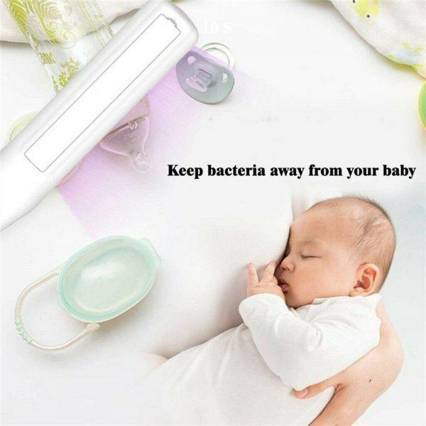 Portable Led Sterilize Uv C Light Germicidal Uv Lamp Home Handheld Disinfection (3)