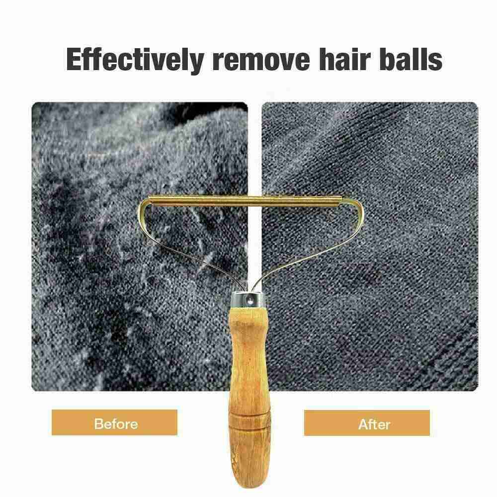 Portable Lint Remover Pet Fur Clothes Fuzz Shaver Jumper Trimmer Roller Reusable (19)