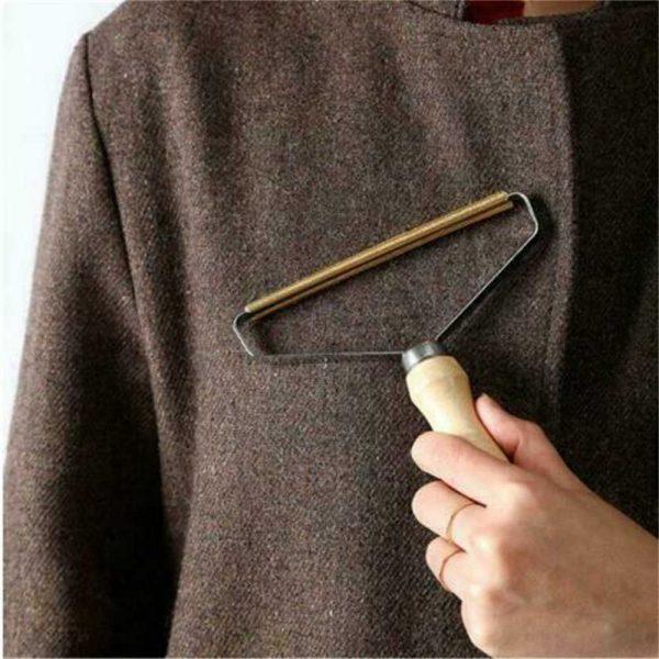 Portable Lint Remover Pet Fur Clothes Fuzz Shaver Jumper Trimmer Roller Reusable (7)