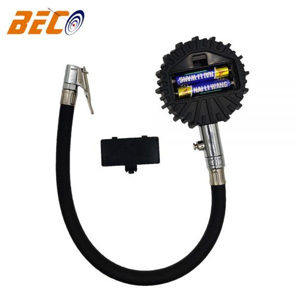 Professional Digital Lcd Tyre Tire Air Pump Pressure Gauge Tester 200psi Car Van (6)