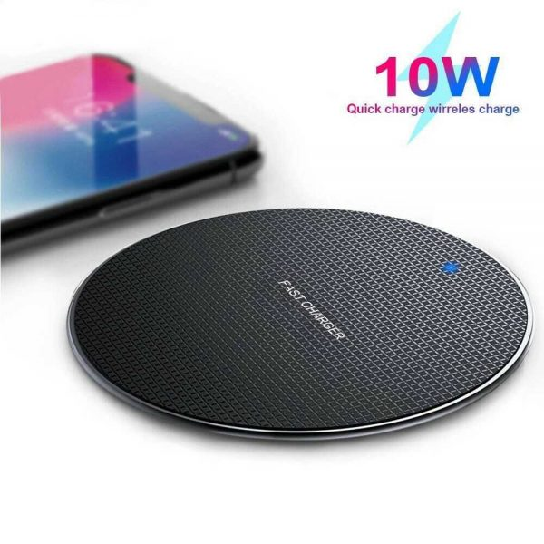 Qi Wireless Fast Charger Charging Pad Dock For Samsung Iphone Android Cell Phone (16)