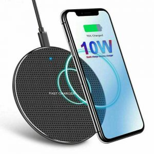 Qi Wireless Fast Charger Charging Pad Dock For Samsung Iphone Android Cell Phone (2)