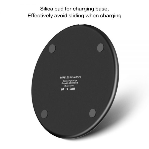Qi Wireless Fast Charger Charging Pad Dock For Samsung Iphone Android Cell Phone (3)