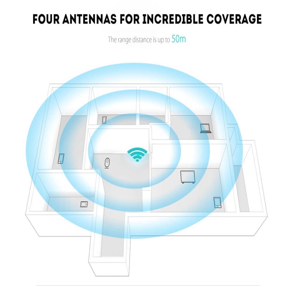 Router Extender Wifi Signal Amplifier Range Extender Intelligent Signal Indicator (10)