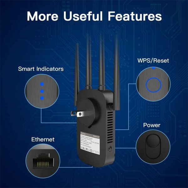 Router Extender Wifi Signal Amplifier Range Extender Intelligent Signal Indicator (2)
