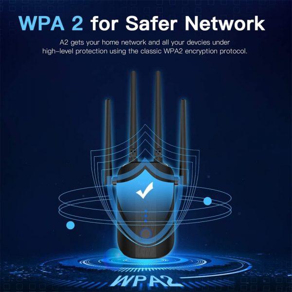 Router Extender Wifi Signal Amplifier Range Extender Intelligent Signal Indicator (3)