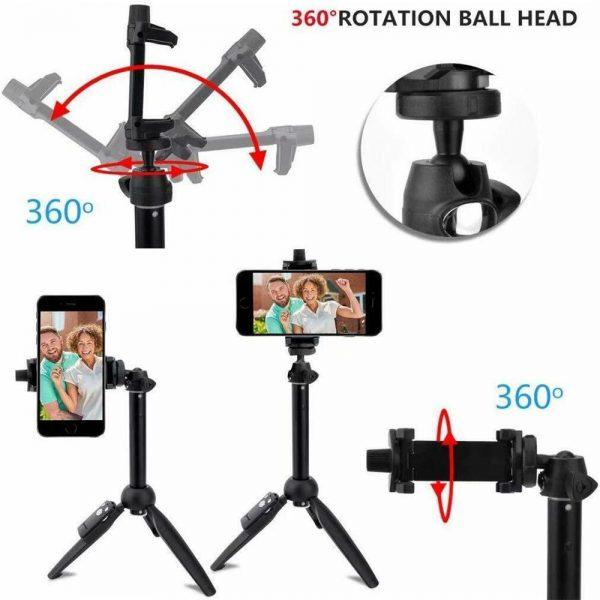 Selfie Stick 40 Inch Extendable Selfie Stick Tripod Phone Tripod With Wireless (6)