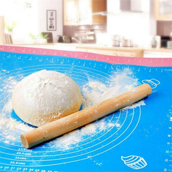 Silicone Cake Kneading Dough Non Stick Baking Mat Pastry Rolling Dough Pad (7)