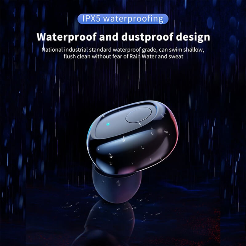 Single Ear Wireless Headphones Surround Stereo Headphone Wireless Sport Earbuds (3)