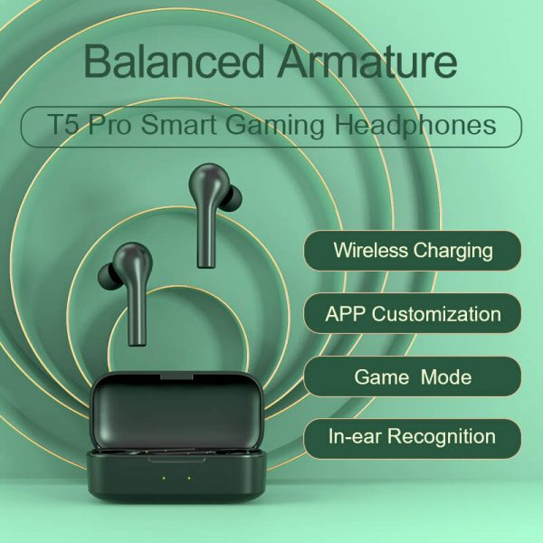 Smart Gaming Headphone Wireless Earphone Sport Earphone Game Mode Tws Earbuds With Mic (13)