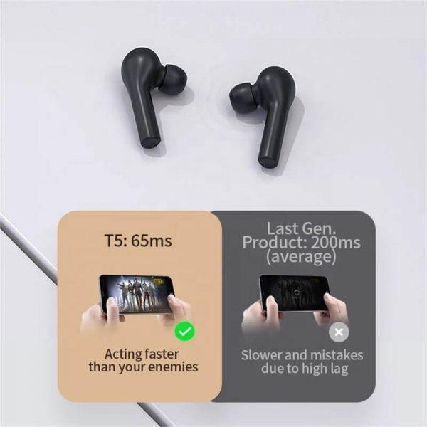 Smart Gaming Headphone Wireless Earphone Sport Earphone Game Mode Tws Earbuds With Mic (14)
